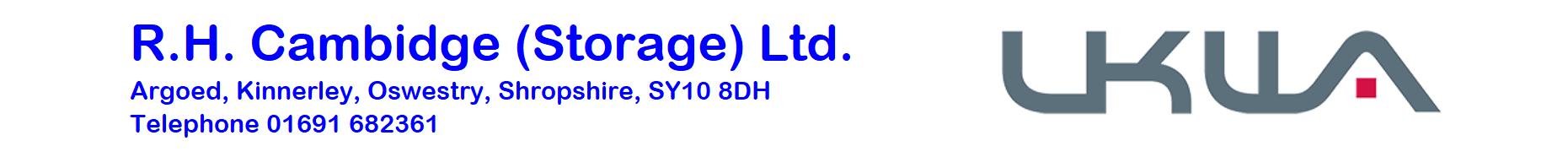 R.H.CAMBIDGE (Storage) LTD